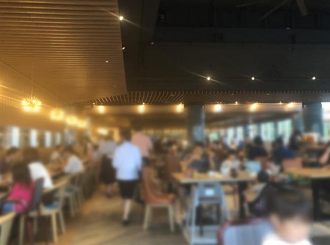 オキナワマリオットリゾート&スパの朝食会場