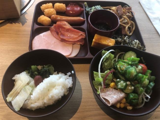 オキナワマリオットリゾート&スパの朝食2