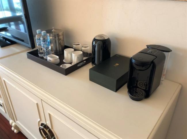 オキナワマリオットリゾート&スパのコーヒーマシン