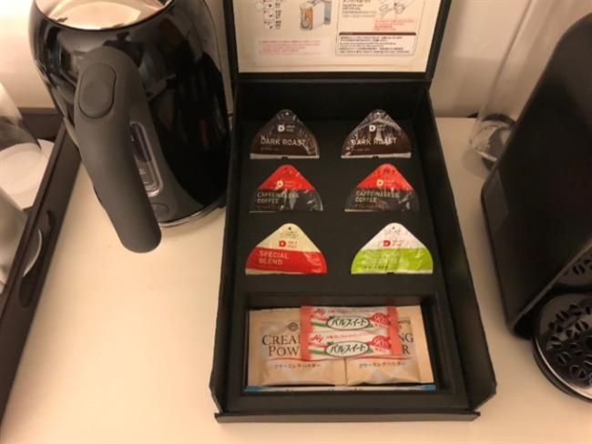 オキナワマリオットリゾート&スパのコーヒー