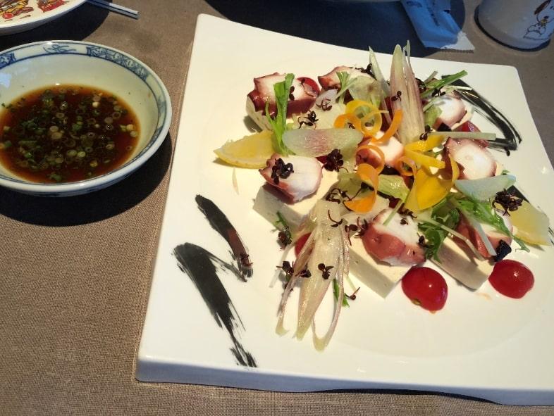 リッツカールトン沖縄のサラダ