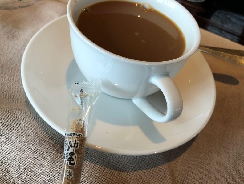リッツカールトン沖縄のコーヒー