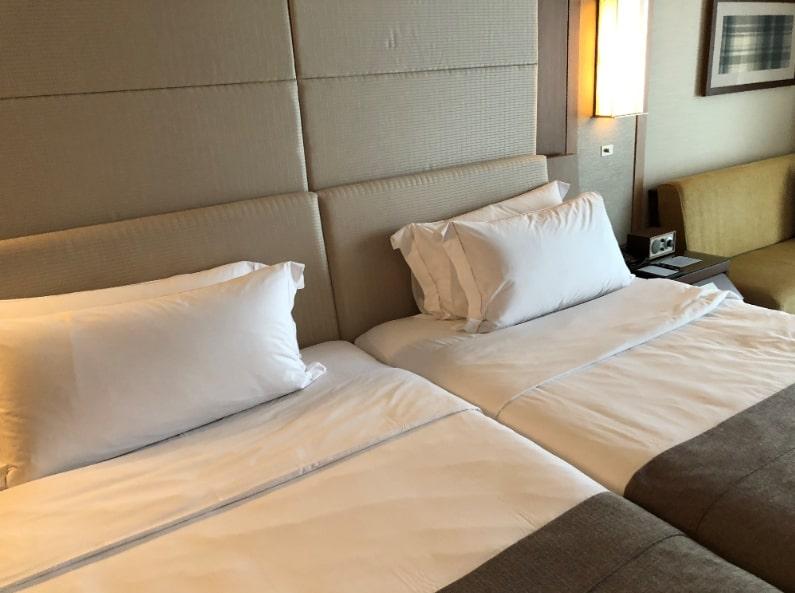 リッツカールトン沖縄のベッド