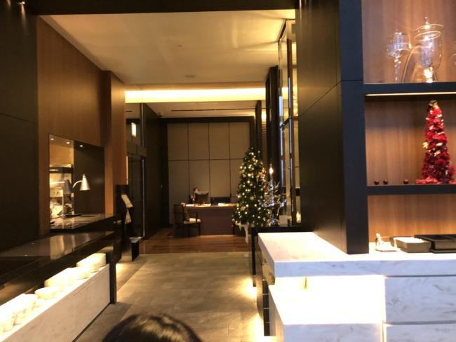 名古屋マリオットアソシアホテルのクリスマス