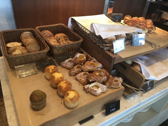 名古屋マリオットアソシアホテル ブッフェレストランのパン