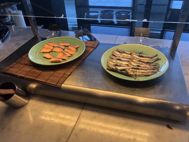 名古屋マリオットアソシアホテルのお魚