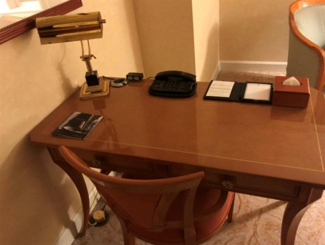 名古屋マリオットアソシアホテルのテーブル