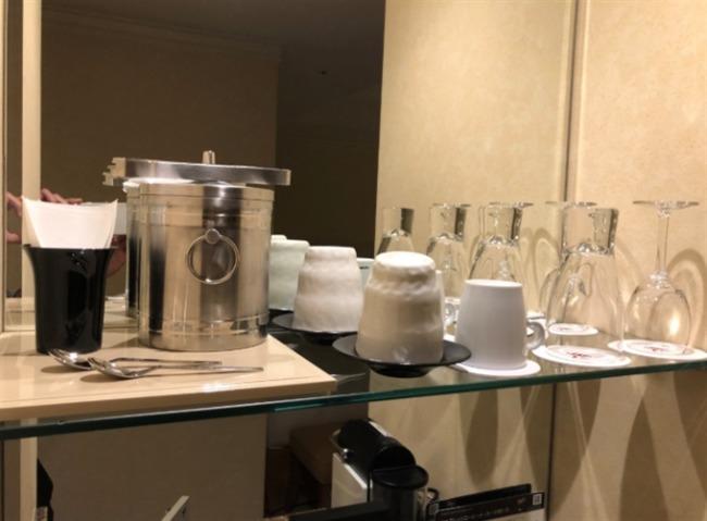 名古屋マリオットアソシアホテルのグラス