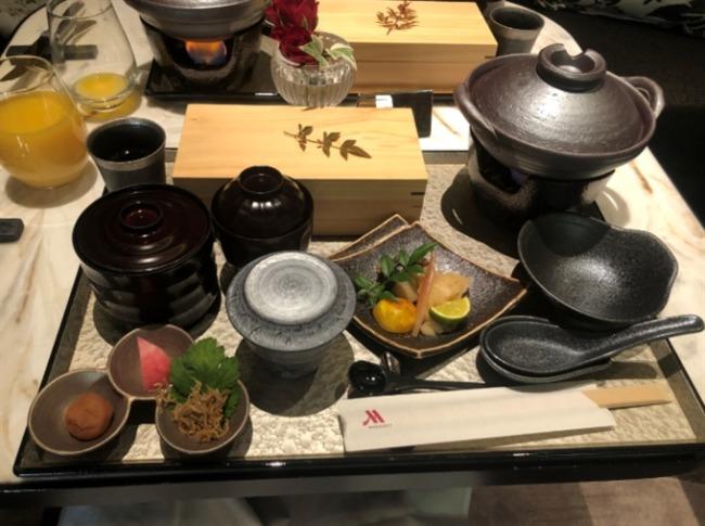 名古屋マリオットアソシアホテルの朝食