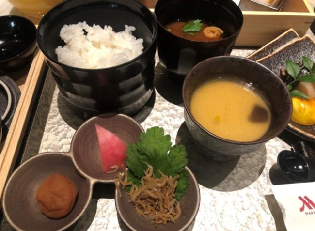 名古屋マリオットアソシアホテル クラブラウンジの朝食