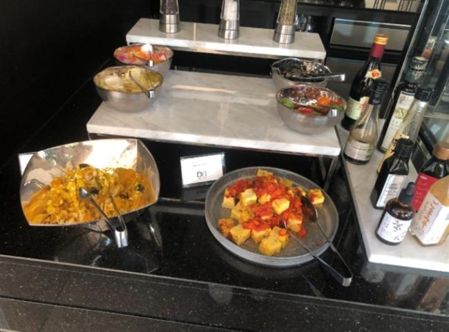 名古屋マリオットアソシアホテル クラブラウンジの洋食