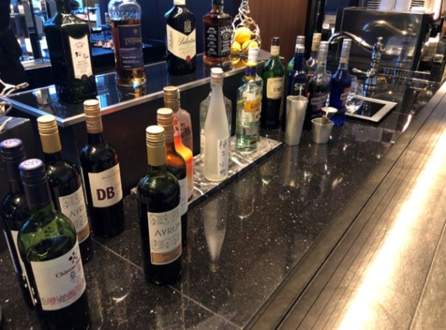 名古屋マリオットアソシアホテルのアルコール