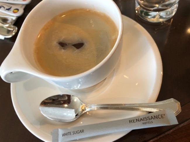 ルネッサンスリゾートオキナワのコーヒー