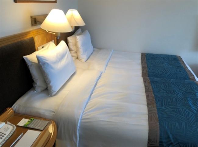 ルネッサンスリゾートオキナワのベッド