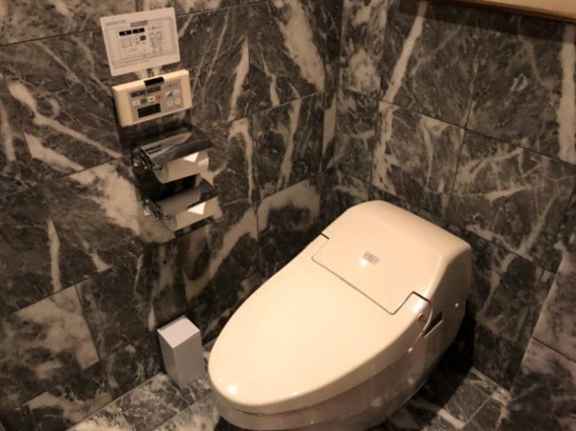 神戸ベイシェラトンのトイレ