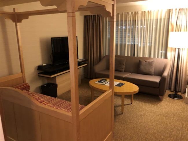 神戸ベイシェラトンのお部屋