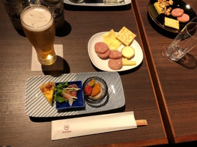 神戸ベイシェラトン トワイライトサービスのビール