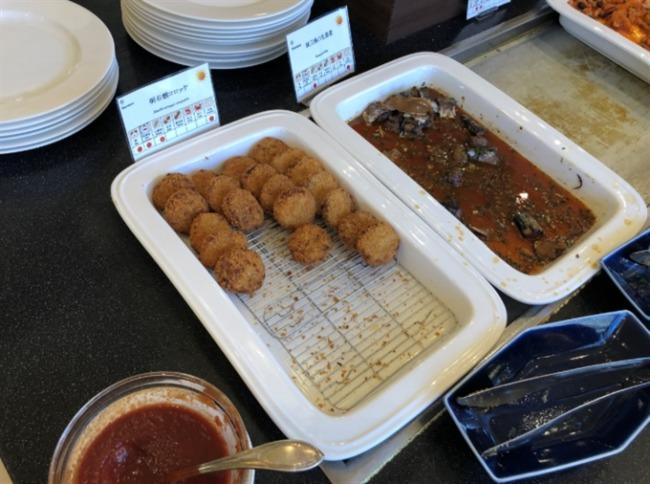 神戸ベイシェラトンの和食コーナー
