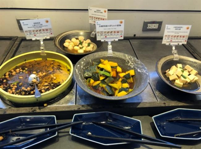 神戸ベイシェラトンの和食類