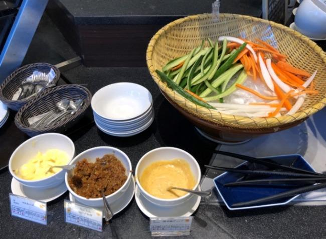 神戸ベイシェラトンの野菜スティック