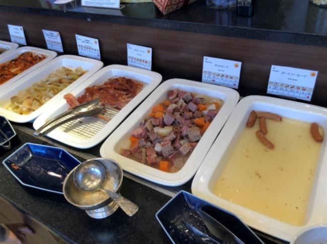 神戸ベイシェラトンの洋食コーナー