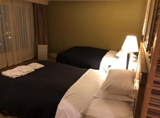 神戸ベイシェラトンのベッド