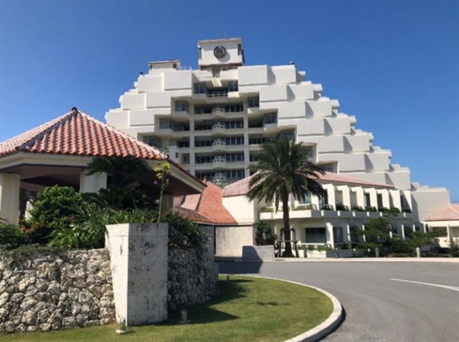 シェラトン沖縄の外観