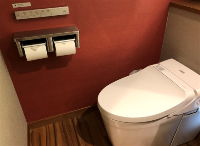 シェラトン沖縄のトイレ