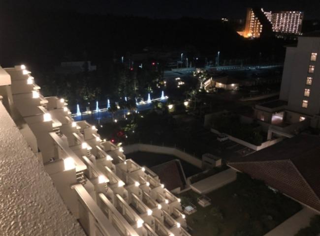 シェラトン沖縄の夜景