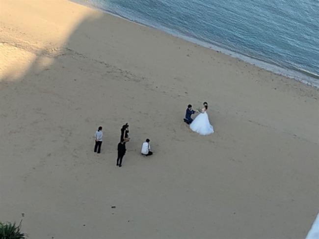 シェラトン沖縄での結婚式前撮り