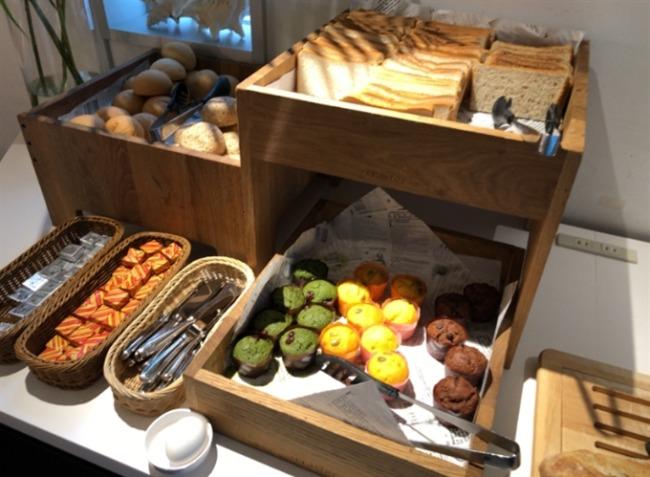 シェラトン沖縄のパンコーナー