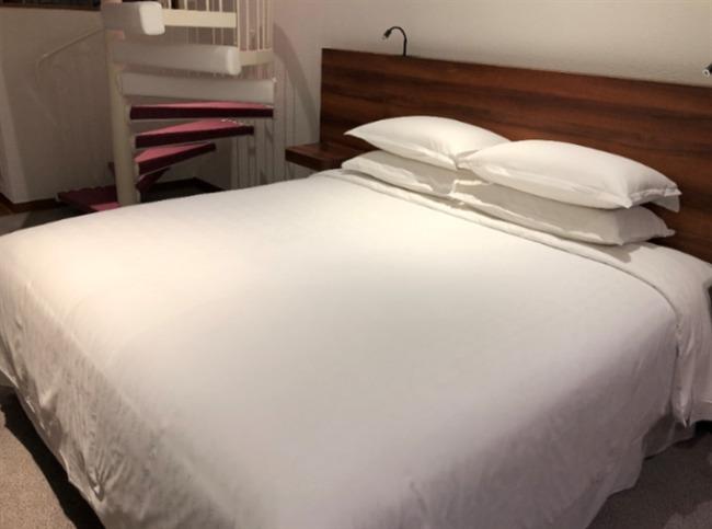 シェラトン沖縄のベッド