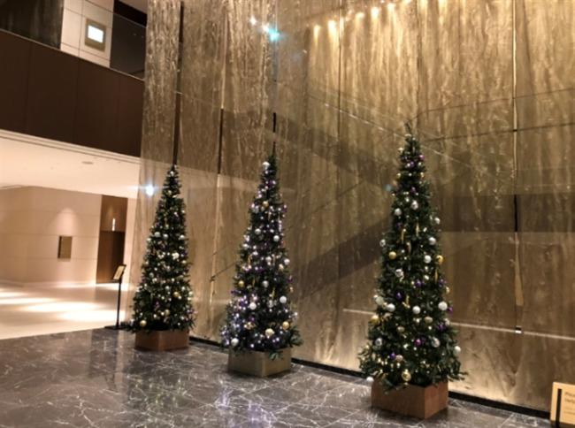 仙台ウェスティンのクリスマスツリー