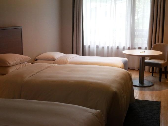 軽井沢マリオットホテルの部屋の写真