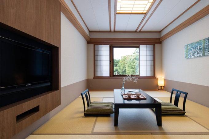 軽井沢マリオットホテルの和室