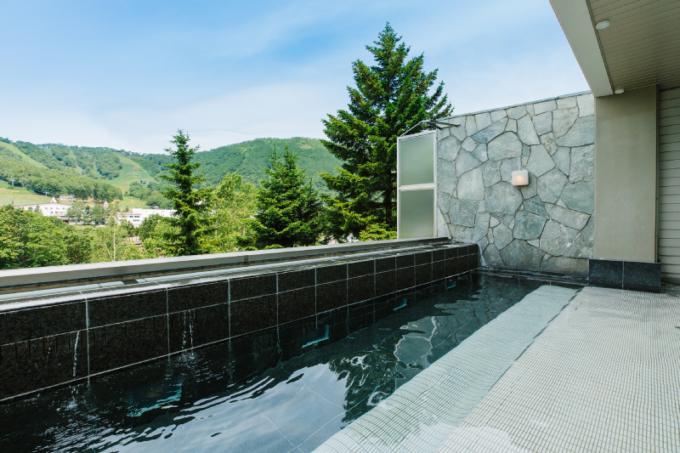ウエスティンルスツの大浴場
