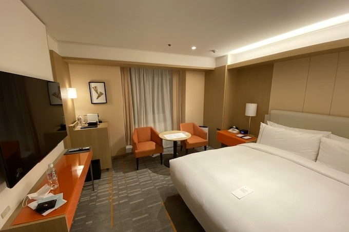 シェラトン都ホテル大阪の客室