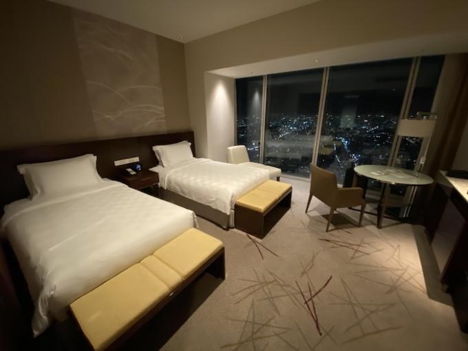 大阪マリオット都ホテルの部屋